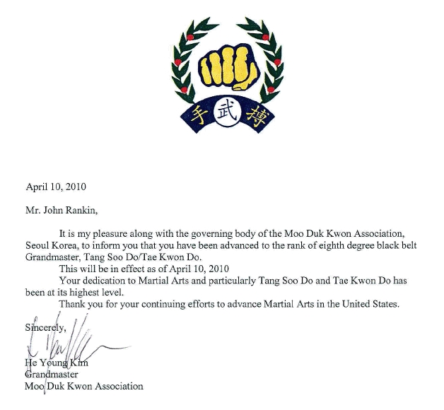 grand master rankin mountain academy of martial arts
