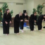 Bowing Black Belts
