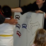Pin the belt on the martial artist 2