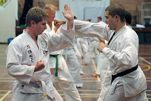 Rhee Tae Kwon-Do self-defence drill in May 2007.